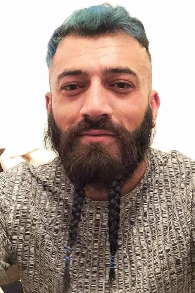 The Braided Beard With Beads