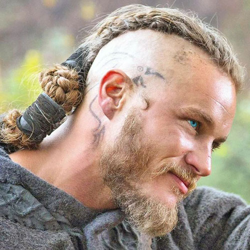 The well-groomed bearded with dreadlocks look