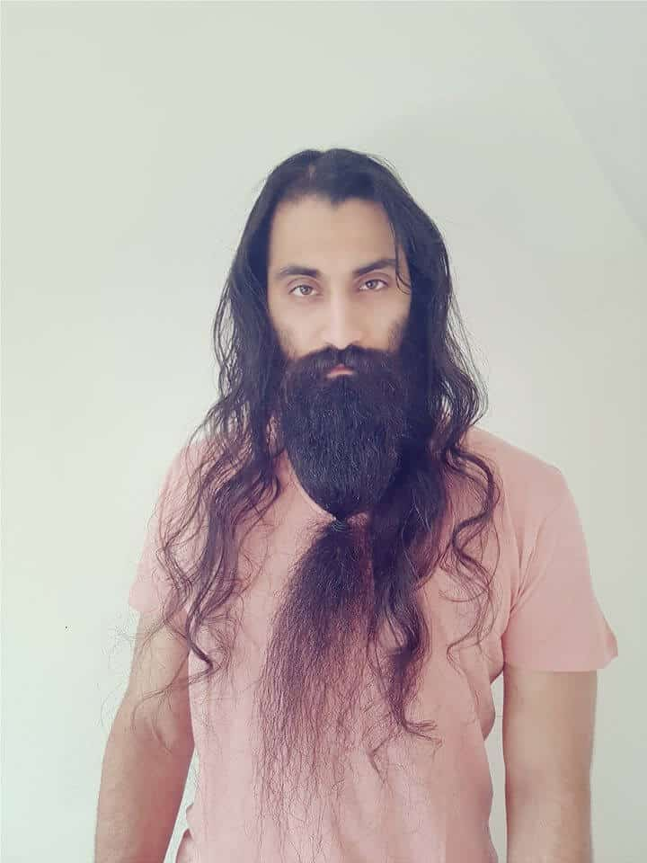 Ponytail Beard