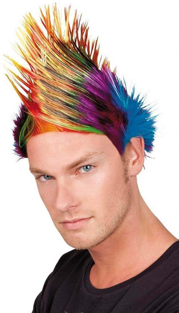 Peacock hair style