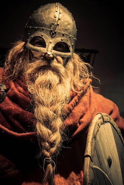 Braided Viking Beard