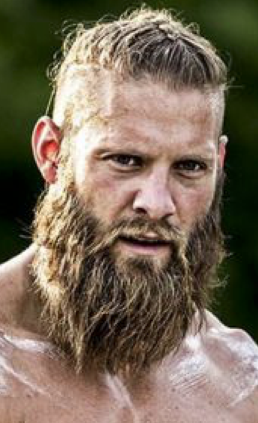 The intense Viking bearded look