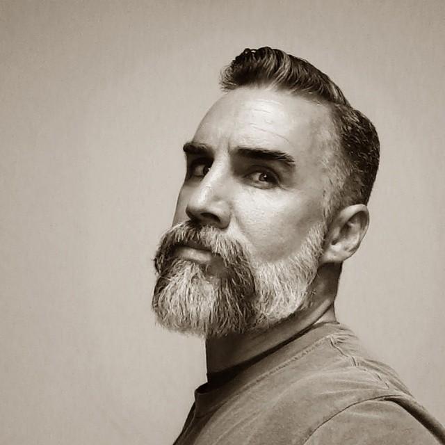 Horse Shoe Moustache with Full Beard