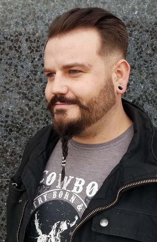 Goatee Braid Beard