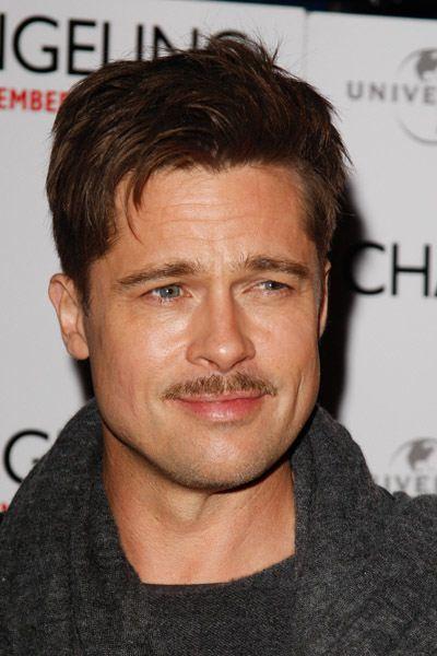 Shaggy pencil mustache