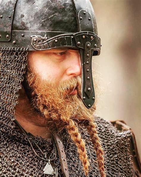 The double braided beard look