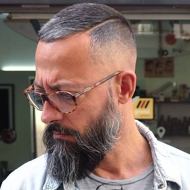 Under Cut Hipster Moustache