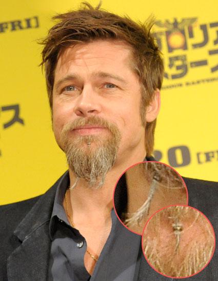 A la Brad Pitt