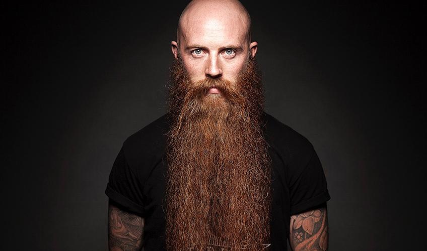 The long-bearded look