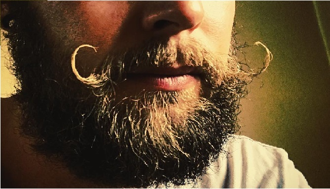 how to grow handlebar mustache