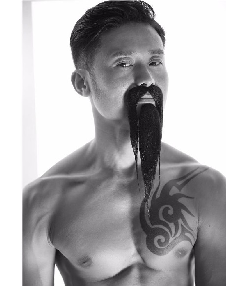 How to Get Fu Manchu With beard Look