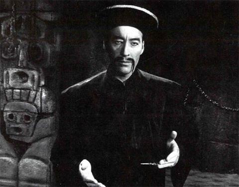 How to grow a Fu Manchu Moustache