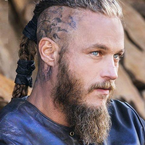 Ragnar Lothbrok's Beard Styles