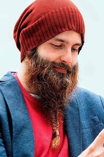 Low Braided Beard