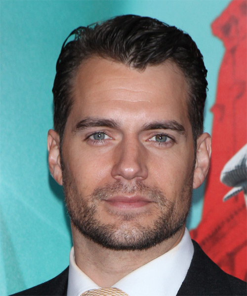 Henry Cavill Short Straight Formal Hairstyle