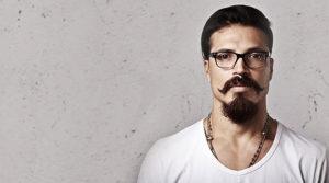 Van Dyke mustache