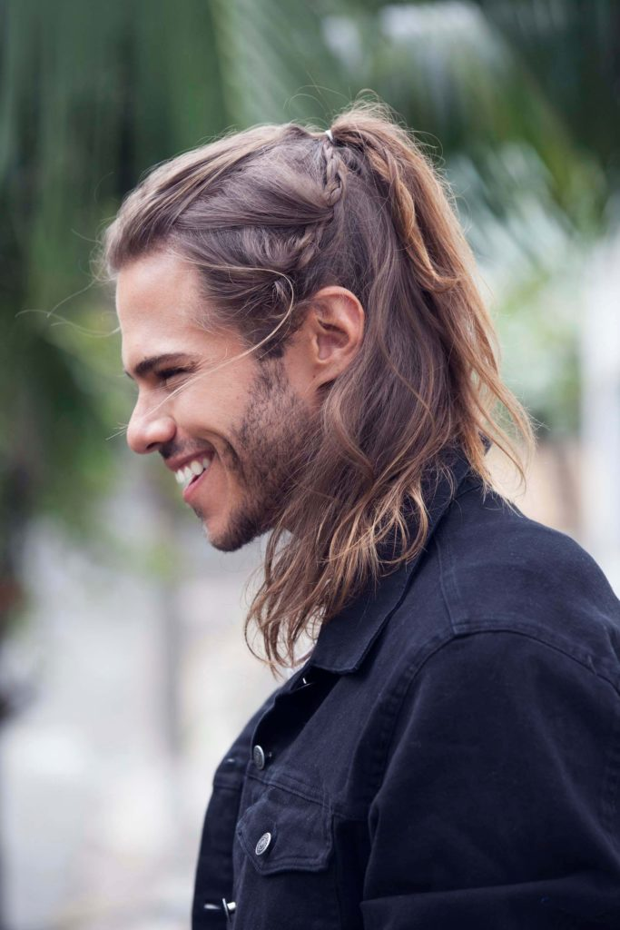 Braided and Ponytail Hairstyle