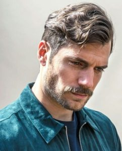 Henry Cavill in The Wavy or Curly Quiff