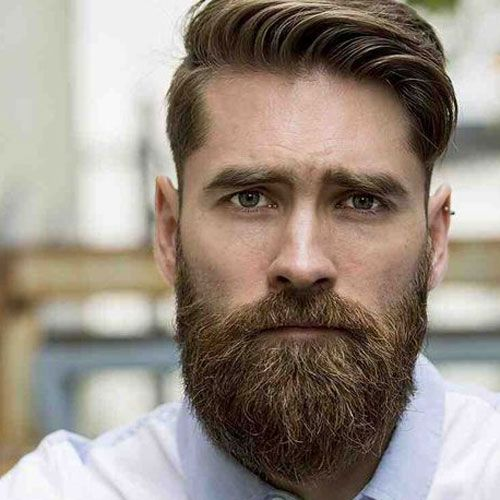 Perfectly Trimmed Moustache and Beard