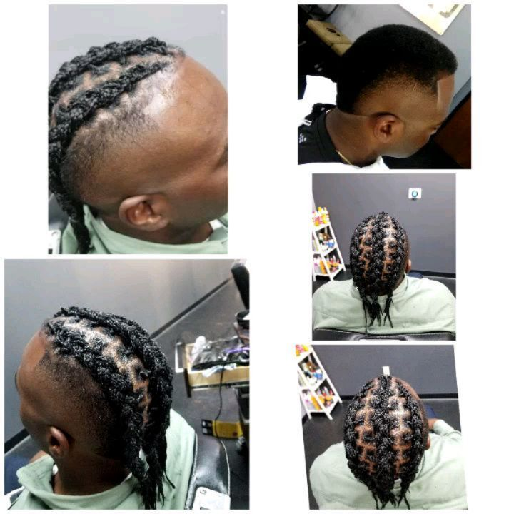 BOX BRAIDS- CORNROWS