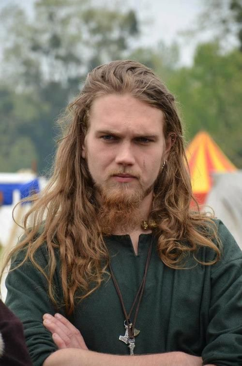 Viking Hairstyles for Redheads