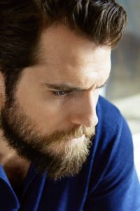 The Brooding Cavill-Inspired Look
