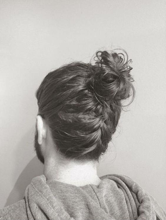 Lower Plait with Top knot