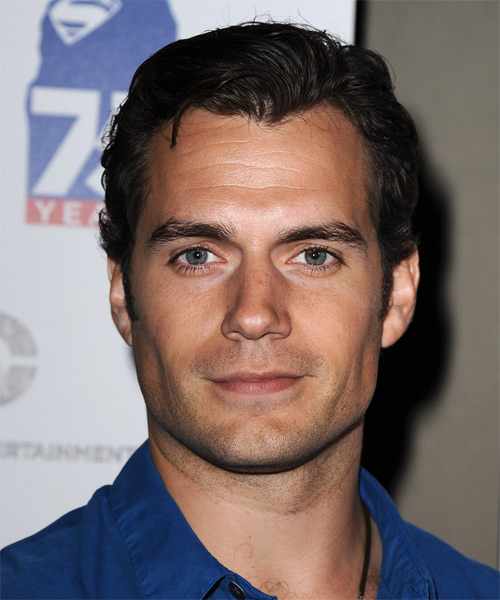 Henry Cavill Short Straight Casual Hairstyle