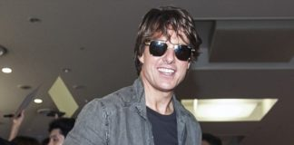 Tom Cruise Messy Hairstyle