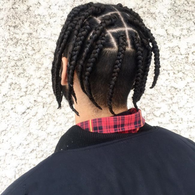 20 Best Box Braids For Men With Imgaes Atoz Hairstyles