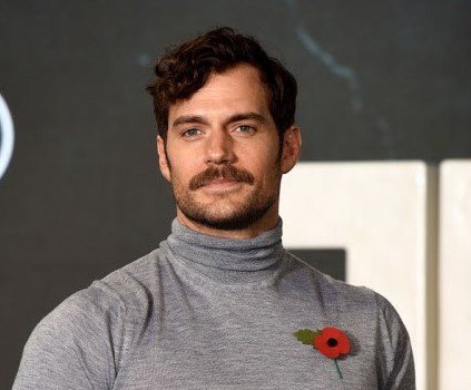 The Justice League Henry Cavill Look