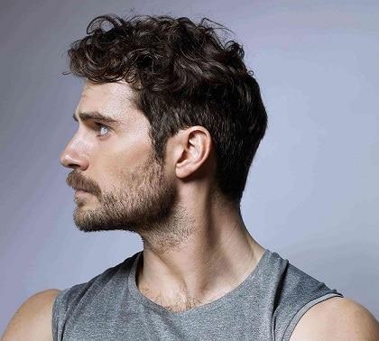 Cavill's Patchy Beard