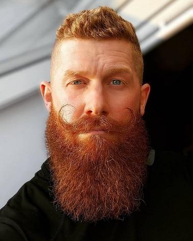 Handlebar with Full Beard