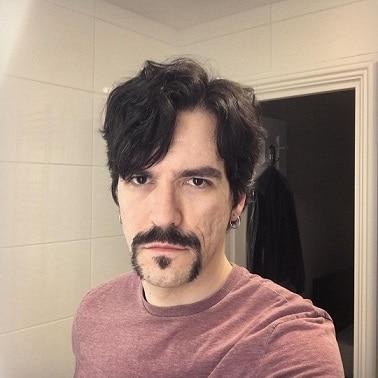 Horseshoe Moustache with Soul Patch