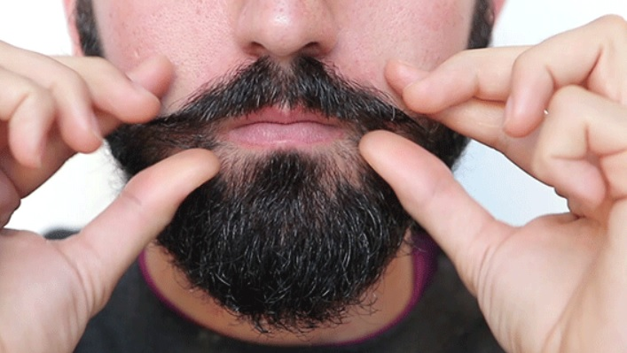 How to apply mustache wax