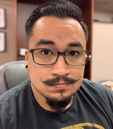 Van Dyke Mustache and Beard