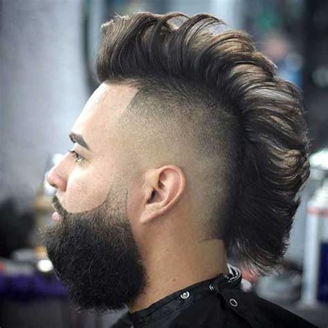 Straight Haired Mohawk