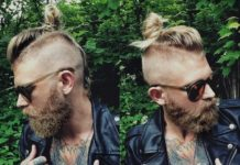 Long Haired Mohawk Fade