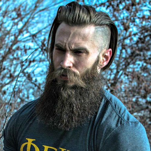 Swell 20 Best Long Hair With Beard Styles Atoz Hairstyles Schematic Wiring Diagrams Phreekkolirunnerswayorg