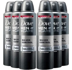 Dove Antiperspirant Silver Control Spray
