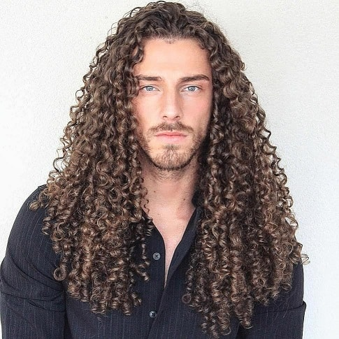 Long Curls with Texture