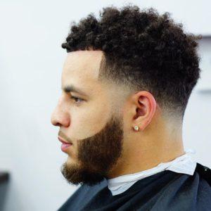 Hard Punk Curly Short Hair