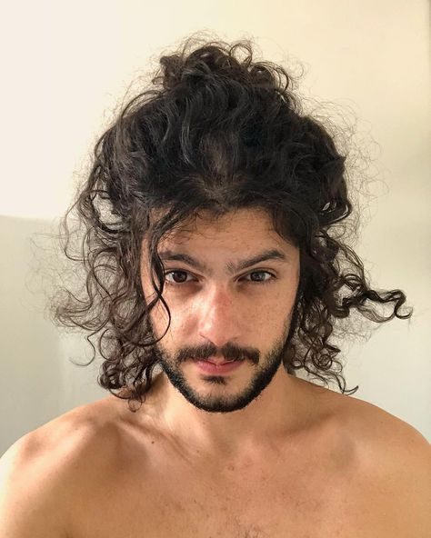 Curly Long Hair 10 Best Hairstyles For Men With Long Curly Hair