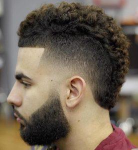 Mohawk Short Curls