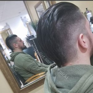 Undercut Fade with Mohawk