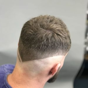Undercut Fade into Bald
