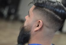 Undercut Fade with Beard