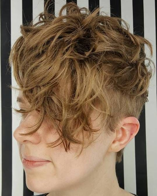 Front Fringe Curly Hair