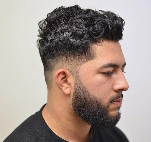 Bush Curls on Top Look