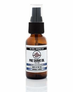 The Well Groomed Guy Pre-Shave Oil